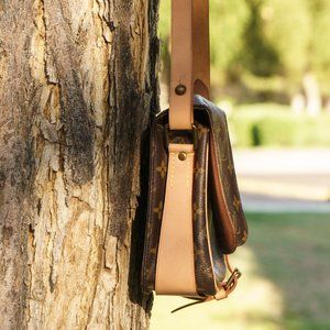 Louis Vuitton Bags - LOUIS VUITTON Monogram Canvas Cartouchiere MM Bag